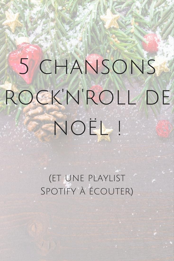 5 chansons rock'n'roll de Noël à découvrir ! Ainsi qu'une playlist plus large !
