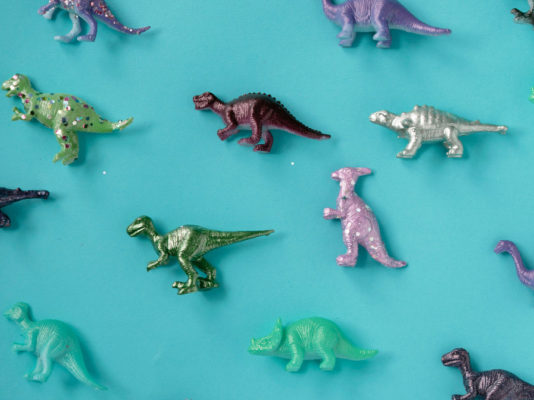 Nous avons marché avec les dinosaures !