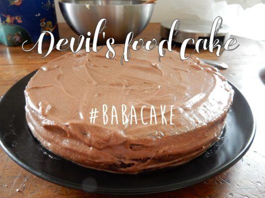 Devil's food cake #BABAcake