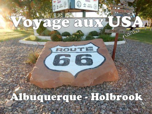 Voyage aux USA : Albuquerque – Holbrook