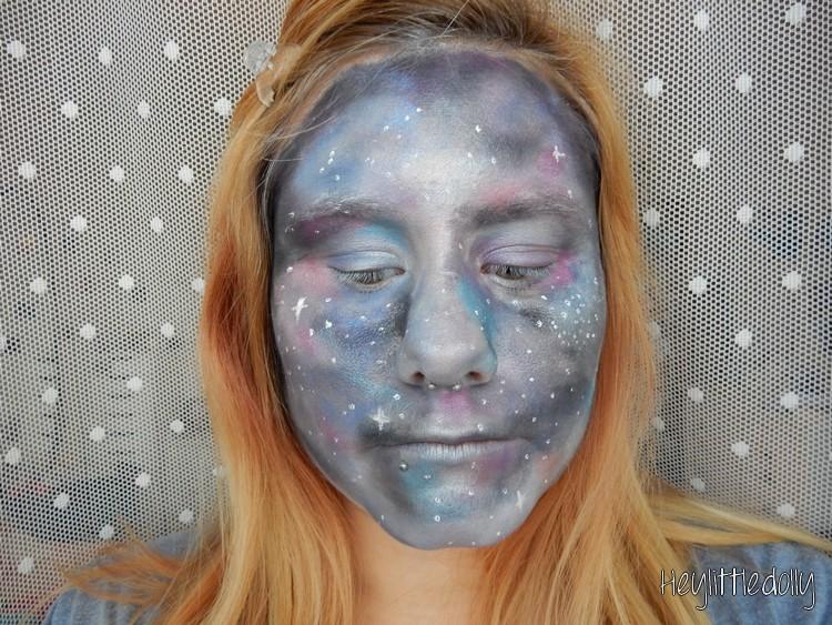 galaxy-makeup