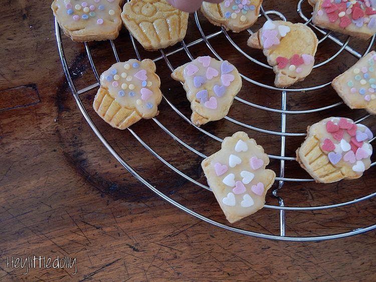 Délicieux petits biscuits à l'orange