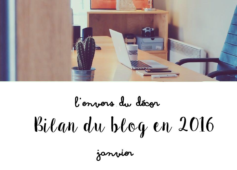 L'envers du décor #5 : Bilan du blog en 2016