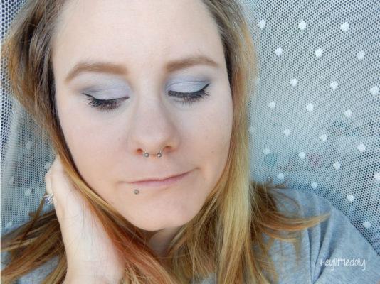 MSC anthracite et mauve : smoky eyes nordique