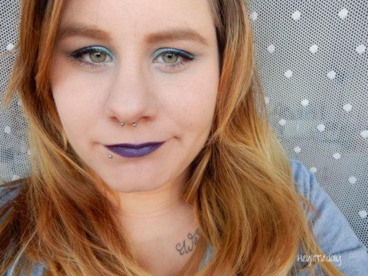 MSC bleu paillettes / turquoise : Mermaid queen