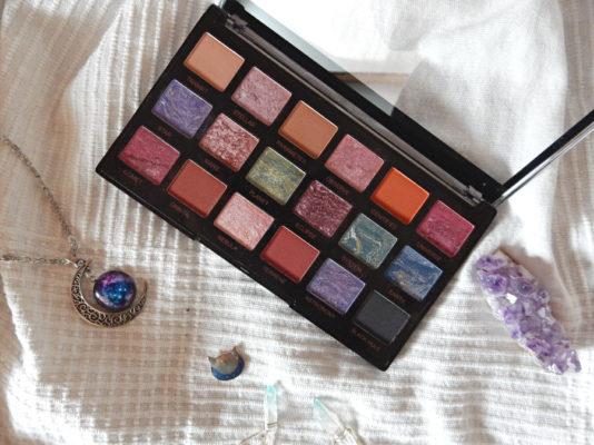 Coup de coeur pour la palette Celestial de MakeUp Revolution