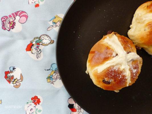 Des hot cross buns comme en Angleterre !