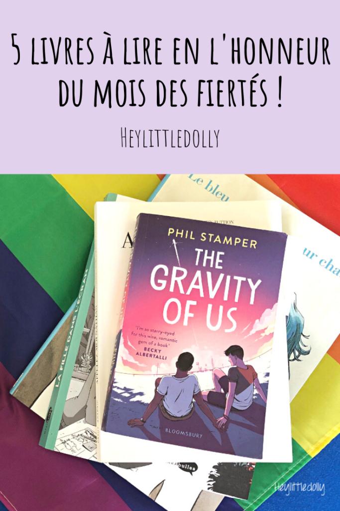 5 livres à lire en l'honneur du mois des fiertés